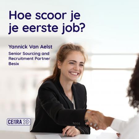 Scoor je eerst job